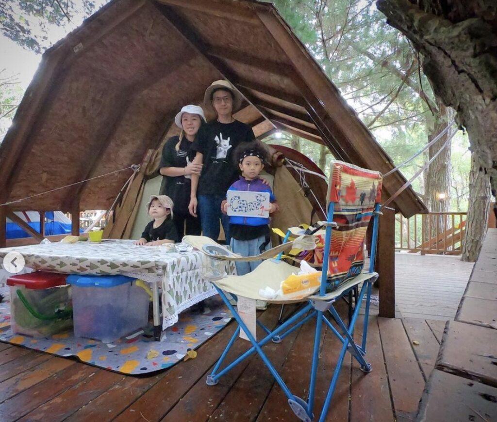 台中露營推薦:九甲林露營區